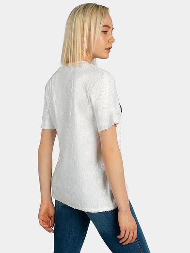 WOMEN KYO sequin t-shirt - 2