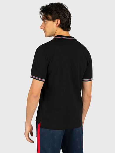 MATCHO Polo-shirt in black - 3