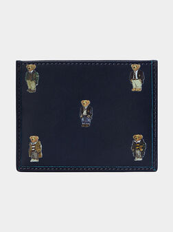 Card holder with print - 1