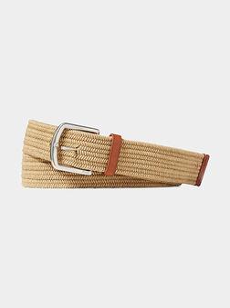 Колан със стилна плетка - 1
