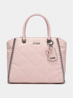 Чанта KHATIA в розов цвят - 1