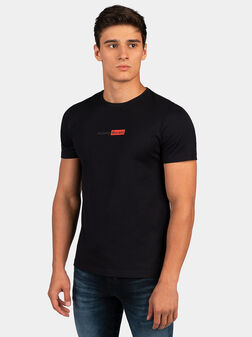 Cotton T-shirt with logo - 1