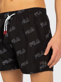 Beach shorts with logo - 1