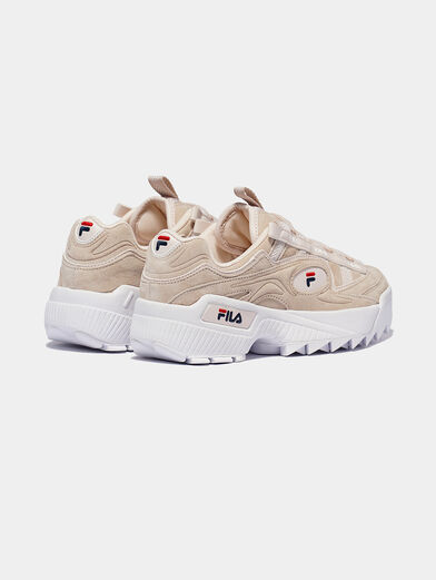 D-FORMATION S Suede runners - 2