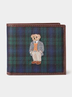 Wallet with Polo Bear embroidery - 1