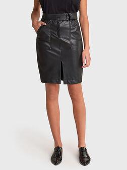 SECRET GLAMOUR Leather skirt - 1