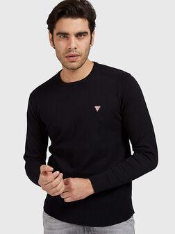 Пуловер JARRETT в черен цвят - 1