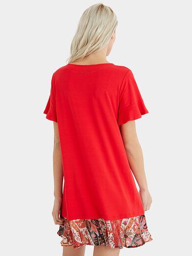 KALI Dress in red color - 6