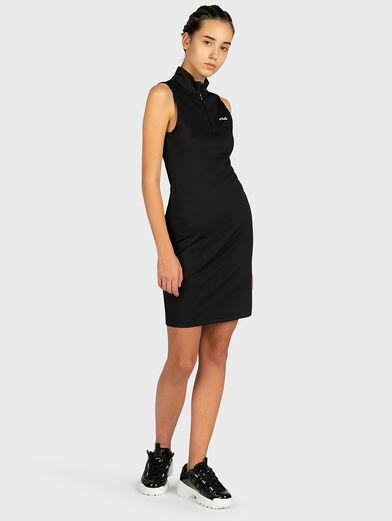 CEARA Dress with a zip neckline - 4