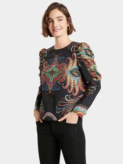 Памучна блуза RAVVEL - 1