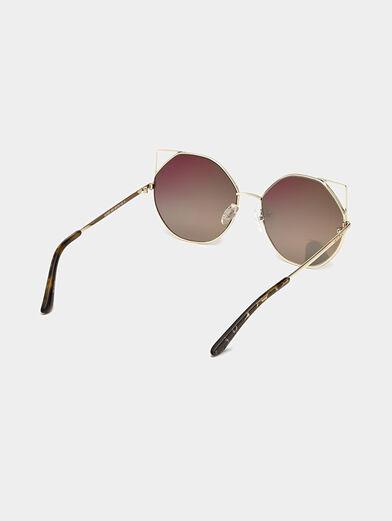 Gold color sunglasses - 5