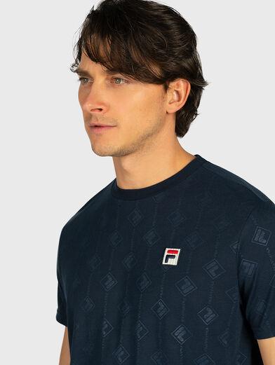 HENIO T-shirt in blue - 2