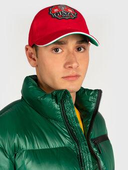 Baseball cap with logo - 4