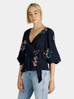 Блуза тип прегърни ме CHERRY - 1