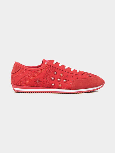 Embroidered sneakers  - 1