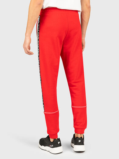 TEVIN Pants with logo branding - 2