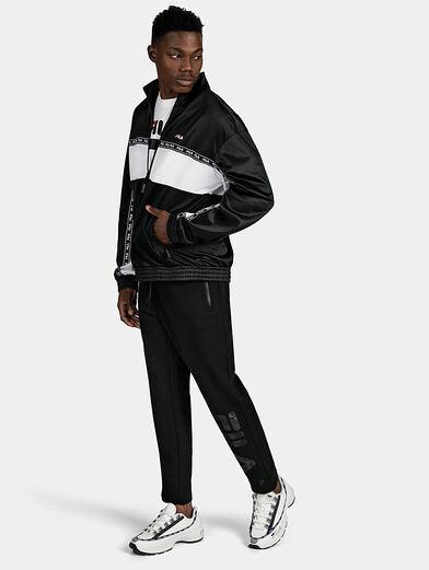 HACHIRO Track jacket in black - 2