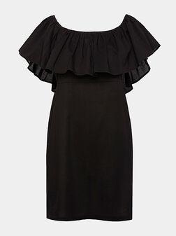 Black beach dress - 1