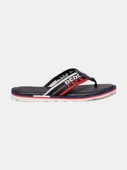 Navy sandals BARREL TAPE - 1