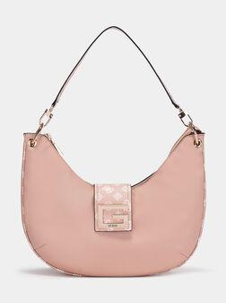 Чанта в розов цвят - 1