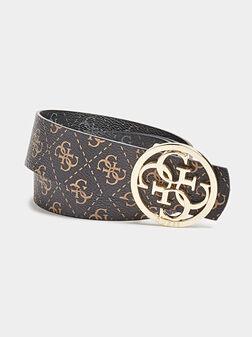 TYREN Reversible belt with logo print - 1