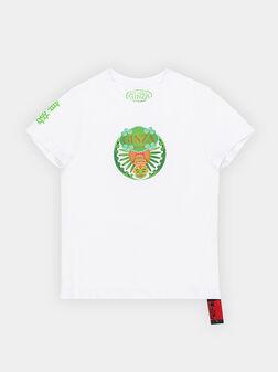 Тениска с лого принт - 1