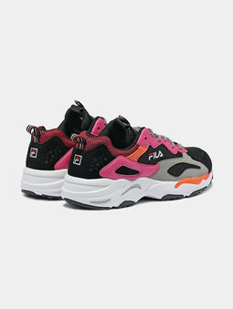RAY TRACER Sneaker with colorful details - 3