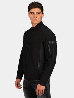 Черно байкър яке - 1