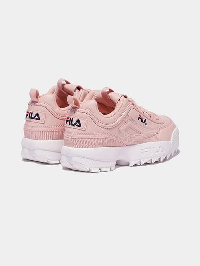 DISTRUPTOR Soft pink sneakers - 4