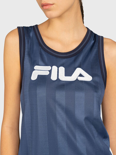 FALA Dress with contrasting print - 3