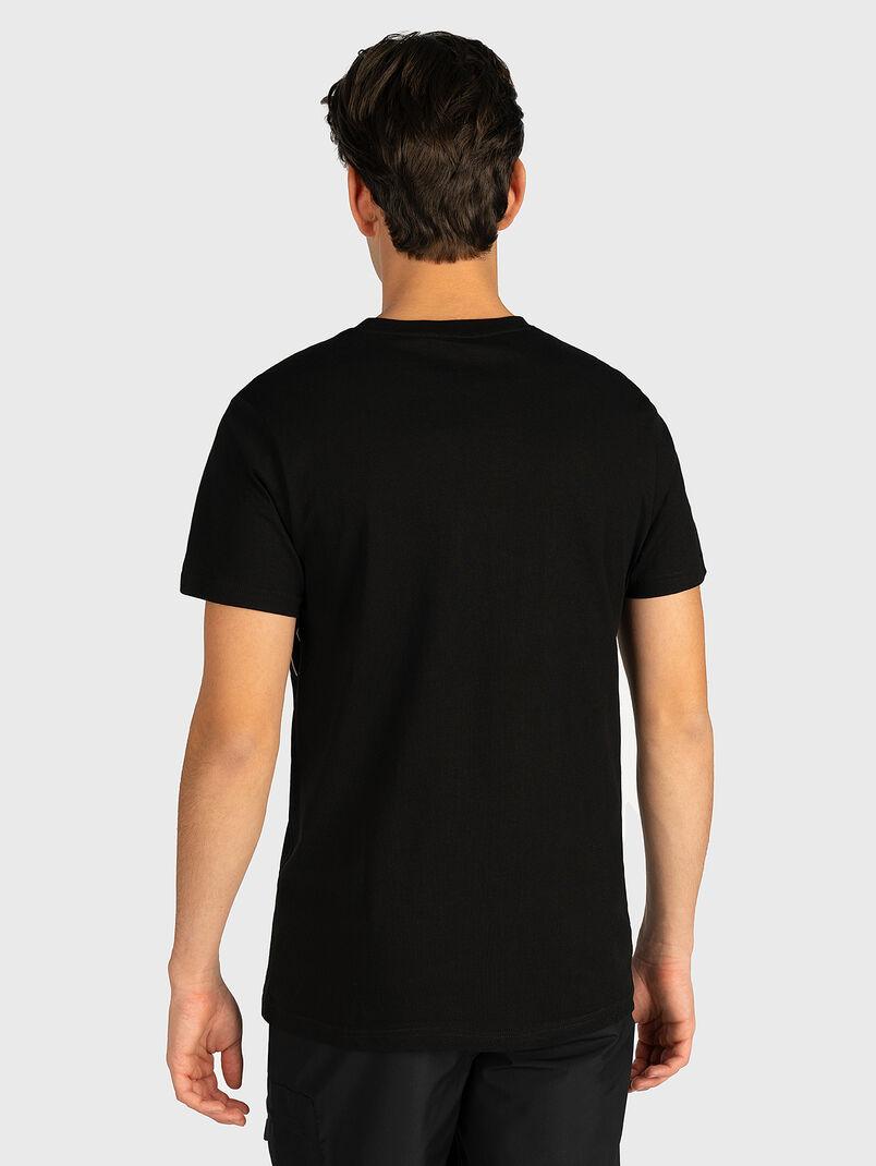 SAUTUS Black cotton T-shirt - 3