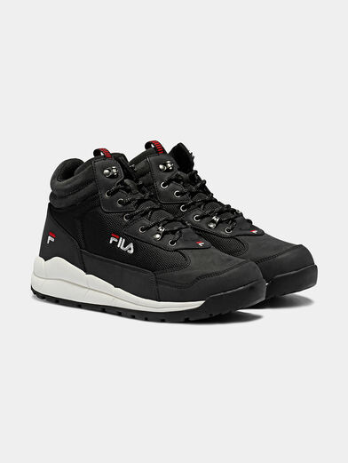 ALPHA MID Black high-top sneakers - 2