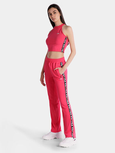 MELODY Pink cropped top - 1