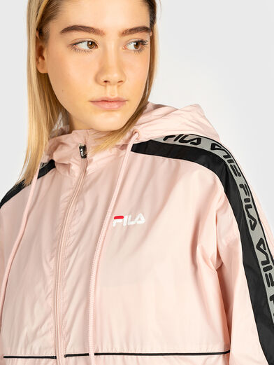 Jacket TEDRA with contrasting logo bands - 2
