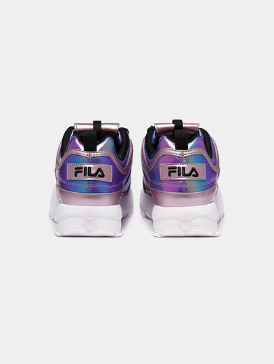 DISRUPTOR Sneakers with hologram effect - 4