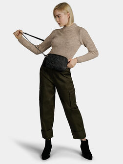 Зелен карго панталон CARA - 1