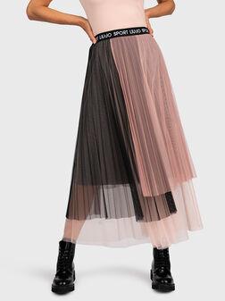 Skirt from tulle - 1