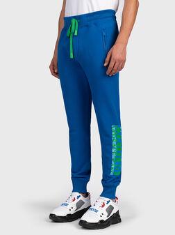 Спортен панталон с лого детайл - 1