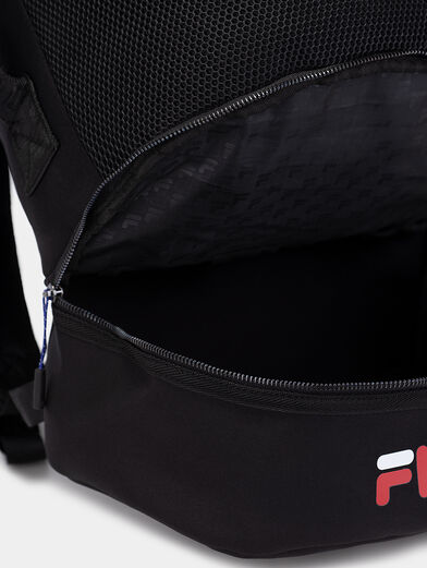 Black backpack with logo - 5