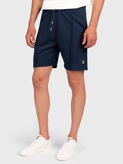 Къси панталони в син цвят  HYWEL - 1