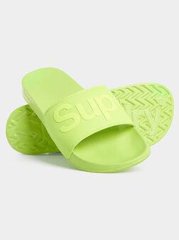 Blue beach shoes - 1