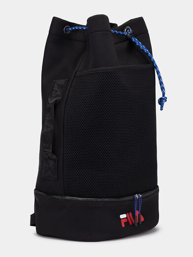 Black backpack with logo - 2