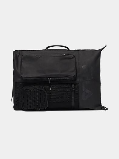 Unisex black backpack - 4