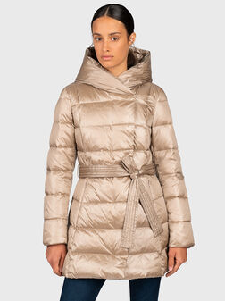 Hooded down jacket - 1
