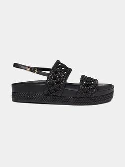 PATTY Black sandals - 1