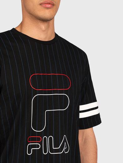 JAMIRO T-shirt with logo print - 2
