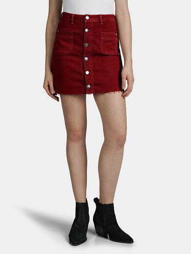 VICKY Denim mini skirt - 1