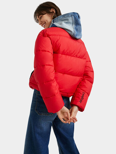 AUSTEN Padded jacket with removable hood - 3