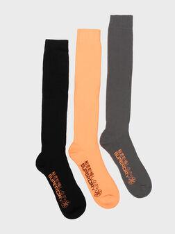 Сет от три чифта чорапи с лого - 1
