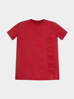 Red tee - 1